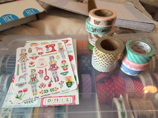 Washi and stickers