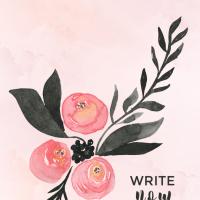 Write Now Mobile Wallpaper