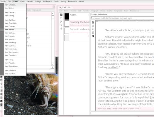 Create Dossier