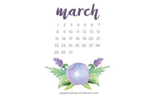 March 2017 wallpaper for desktop