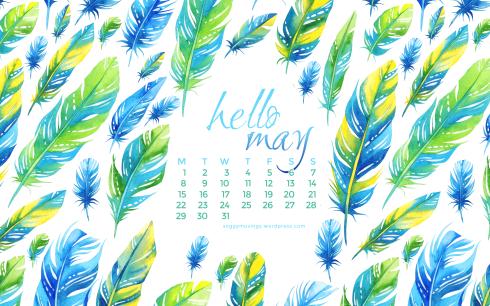 May 2017 wallpaper for desktop