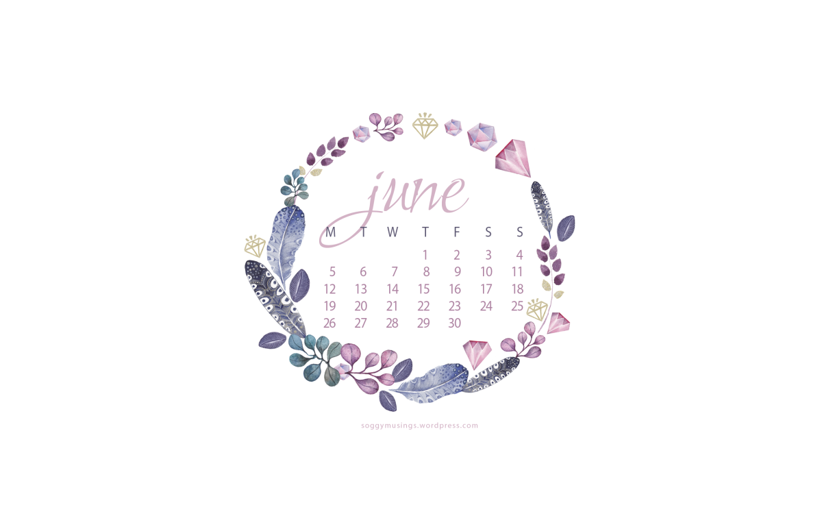 June 2017 Wallpaper Calendars