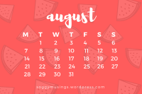 August 2017 wallpaper for desktop