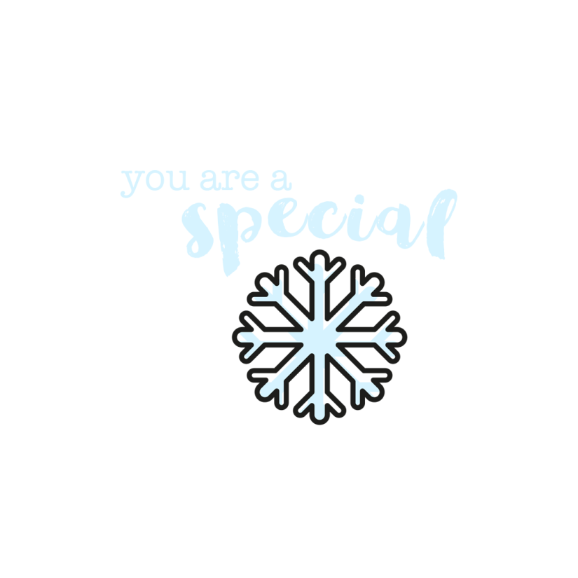 Special Snowflake Wallpaper for iPad