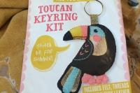 Toucan keyring kit