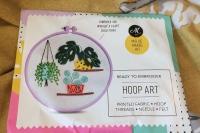 Succulent hoop