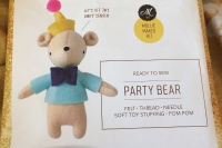 Party bear sewing kit