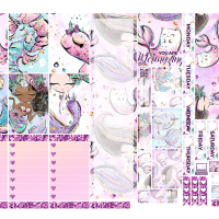 Purrmaids Kit for Happy Planner